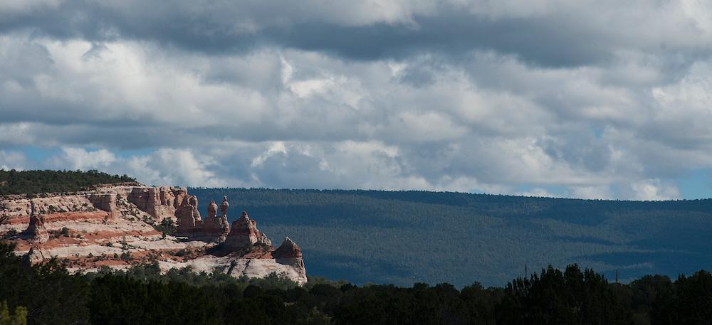 Los Gigantes rock formations by El Morro