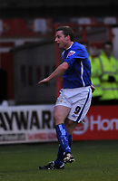 Photo: Tony Oudot/Richard Lane Photography. Walsall v Milwall. Coca-Cola Football League One. 13/12/2008. <br /> Neil Harris of Millwall scores the first goal
