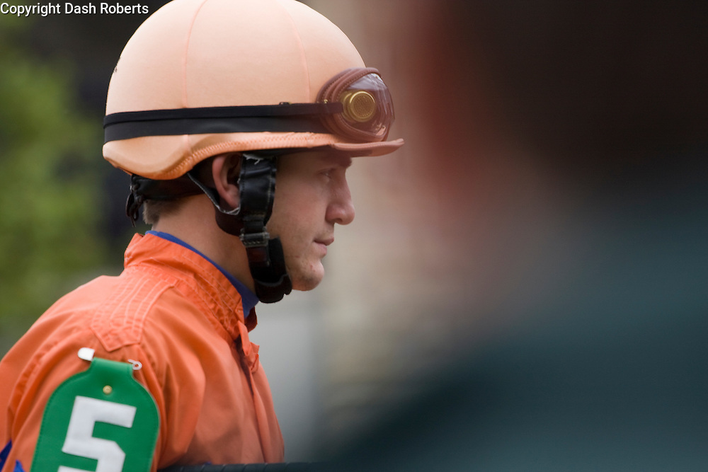 Jockey Shaun Bridgmohan