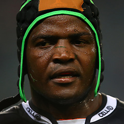 DURBAN, SOUTH AFRICA - JULY 15: Chiliboy Ralepelle of the Cell C Sharks during the Super Rugby match between the Cell C Sharks and Sunwolves at Growthpoint Kings Park on July 15, 2016 in Durban, South Africa. (Photo by Steve Haag/Gallo Images)