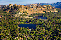 Dean and Notch Lakes in the Uintah Mountains