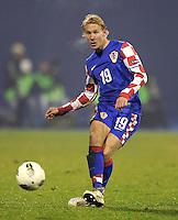 Fussball International, Nationalmannschaft   EURO 2012 Play Off, Qualifikation, Kroatien - Tuerkei       15.11.2011 Domagoj Vida (Kroatien)
