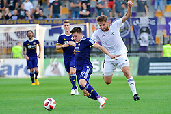 Martin Kramaric of NK Maribor vs. Nik Lorbek of NS Mura during football match between NK Maribor and NS Mura in 2nd Round of Prva liga Telekom Slovenije 2018/19, on July 29, 2018 in Ljudski vrt, Maribor, Slovenia. Photo by Mario Horvat / Sportida