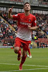 Leyton Orient's David Mooney    - Photo mandatory by-line: Mitchell Gunn/JMP - Tel: Mobile: 07966 386802 29/09/2013 - SPORT - FOOTBALL -  Matchroom Stadium - London - Leyton Orient v Walsall - Sky Bet League One