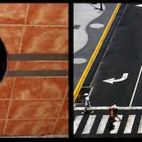 DAILY VENEZUELA II / VENEZUELA COTIDIANA II<br /> Photography by Aaron Sosa <br /> <br /> Left: Miranda State - Venezuela 2006 / Estado Miranda - Venezuela 2006 <br /> <br /> Right: Plaza Venezuela, Caracas - Venezuela 2007<br /> <br /> (Copyright © Aaron Sosa)