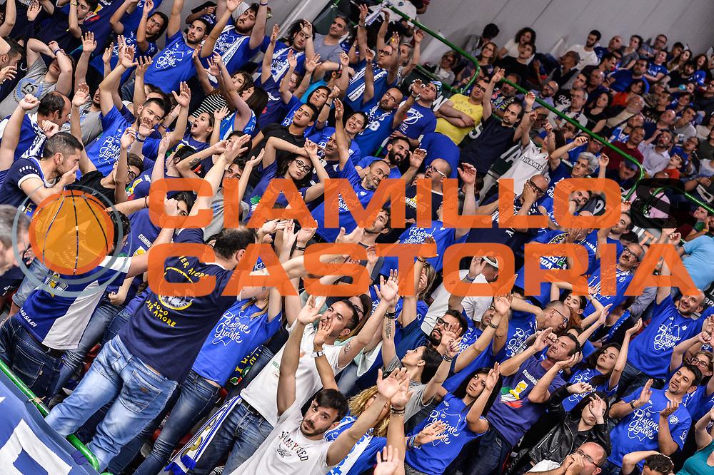 Commando Ultra' Dinamo<br /> Banco di Sardegna Dinamo Sassari - Dolomiti Energia Aquila Basket Trento<br /> Legabasket Serie A LBA Poste Mobile 2016/2017<br /> Playoff Quarti Gara3<br /> Sassari 16/05/2017<br /> Foto Ciamillo-Castoria