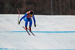 21-02-2018 KOR: Olympic Games day 12, PyeongChang<br /> Ladies Downhill at Jeongseon Alpine Centre / Gold medal for Sofia Goggia, of Italy in action
