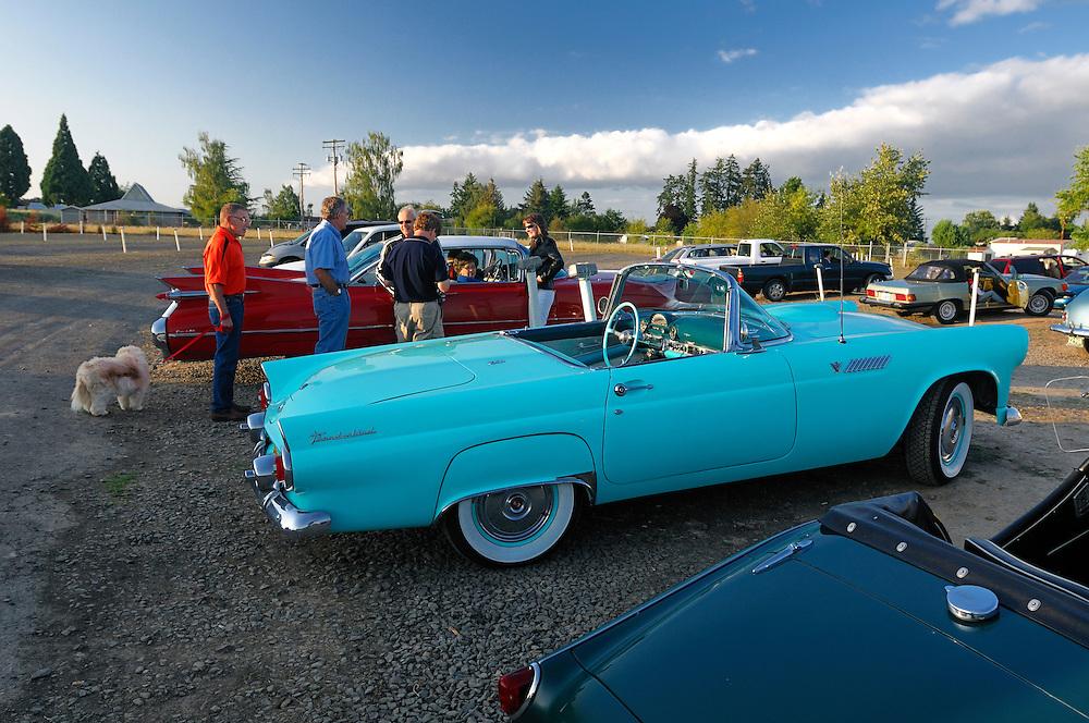Classic car, Motor Vu Drive In, Dallas, Oregon, USA