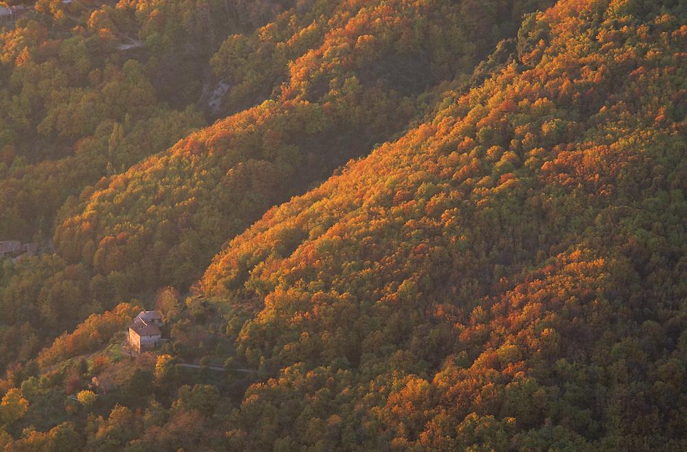 France, languedoc Roussillon, Gard, Cévennes, vallée du Recodier