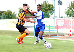 Marc Bola of Bristol Rovers goes past Brian Lenihan of Hull City - Mandatory by-line: Robbie Stephenson/JMP - 18/07/2017 - FOOTBALL - Estadio da Nora - Albufeira,  - Hull City v Bristol Rovers - Pre-season friendly