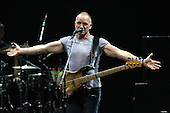 Sting in Concert at Caesars Palace in Las Vegas, NV