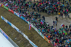 FANS during first round on day 2 of  FIS Ski Jumping World Cup Ladies Ljubno 2020, on February 23th, 2020 in Ljubno ob Savinji, Ljubno ob Savinji, Slovenia. Photo by Matic Ritonja / Sportida