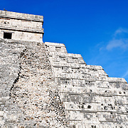 El Castillo (also known as Temple of Kuklcan) at the ancient Mayan ruins at Chichen Itza, Yucatan, Mexico 081216092350_4391.NEF