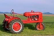 1941 Wards Twin Row Tractor restored by Bob Callison of Kendrick, Idaho