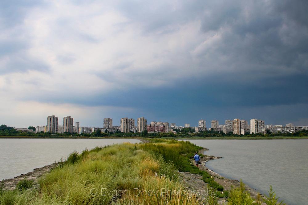 Atanasovsko lake in Burgas