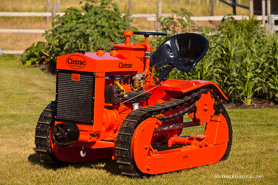 1922 Cletrac Model F High Drive Crawler Tractor restored by Dennis Black of Arlee, Montana, USA