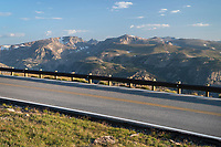 Beartooth Highway at Beartooth Pass, Shoshone National Forest Wyoming