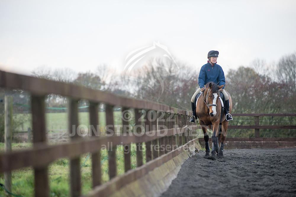 Hoof Ride - Warwickshire College, Moreton Morrell, Warwickshire, United Kingdom - 18 November 2014