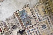 Roma 1 Aprile 2015<br /> Presentato il progetto per il risanamento della Domus Aurea, realizzato dalla Soprintendenza speciale per i beni archeologici di Roma, che consiste nella sistemazione del  giardino pensile,una parcella di 800 mq ,realizzato con tecnologie sostenibili che far&agrave; da &laquo;scudo&raquo; alla  Domus Aurea impedendo le infiltrazioni d'acqua. L'interno della Domus Aurea.Sala di Achille a Sciro, la volta<br /> Rome, April 1, 2015<br /> Presented the project for the rehabilitation of the Domus Aurea, fulfilled  by the Superintendence for Cultural Heritage of Rome, which is the arrangement of the roof garden, a plot of 800 square meters, made with sustainable technologies that will be the &quot;shield&quot; at the Domus Aurea for  preventing water infiltration. The interior of the Domus Aurea. Achilles on Skyros Room, the vault.