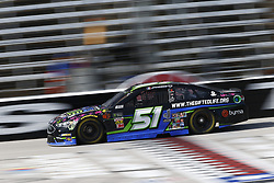 November 2, 2018 - Ft. Worth, Texas, United States of America - Joey Gase (51) takes to the track to practice for the AAA Texas 500 at Texas Motor Speedway in Ft. Worth, Texas. (Credit Image: © Justin R. Noe Asp Inc/ASP via ZUMA Wire)