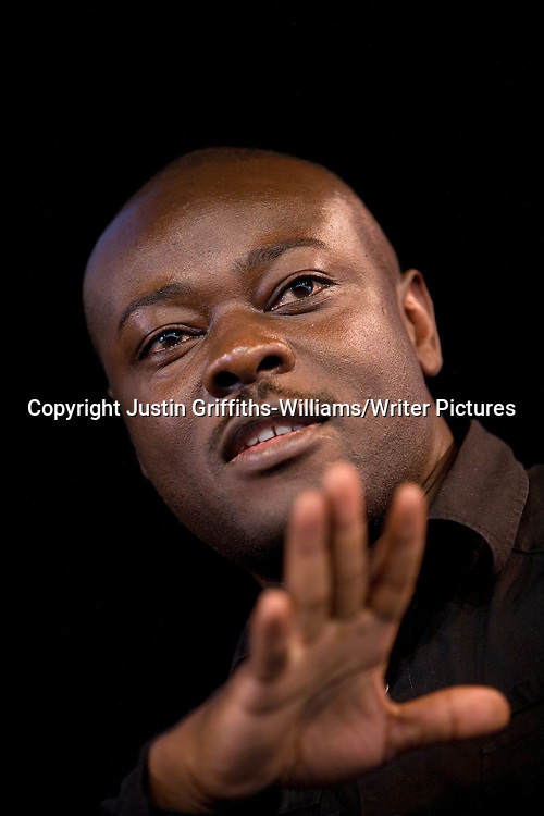 Nigerian writer Helon Habila appears at the Guardian Hay Festival.<br /> <br /> copyright Justin Griffiths-Williams/Writer Pictures<br /> contact +44 (0)20 822 41564<br /> info@writerpictures.com <br /> www.writerpictures.com