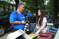 Move-in day at Blanding/Kirwan Tower, Friday, Aug. 22, 2014 at University of Kentucky in Lexington .