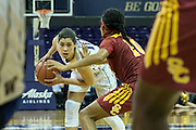 University of Washington guard Kelsey Plum records 34 points to lead No. 12 Huskies to a 77-67 victory over the University of Southern California Trojans at the Alaska Airlines Arena on Montlake. The Huskies are 10-0 at home this season.<br /> <br /> Photo Credit: Alika Jenner