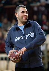 Assistant coach Boris Denic at Open training session for the public of Slovenian handball National Men team before European Championships Austria 2010, on December 27, 2009, in Terme Olimia, Podcetrtek, Slovenia.  (Photo by Vid Ponikvar / Sportida)