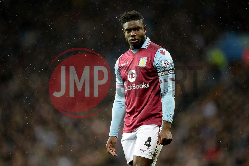 Micah Richards of Aston Villa - Mandatory byline: Alex James/JMP - 28/11/2015 - Football- Aston Villa  - Birmingham, Watford  - Aston Villa v Watford - Barclays Premiership