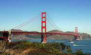 "US-SAN FRANCISCO: :The Golden Gate Bridge"" PHOTO: GERRIT DE HEUS"