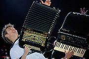 BELO HORIZONTE, MG, BRA. 16 de julho de 2011...UOL..Primeiro dia do Sertanejo Pop Festival. Show do cantor Michel Telo..Foto: RODRIGO LIMA / UOL
