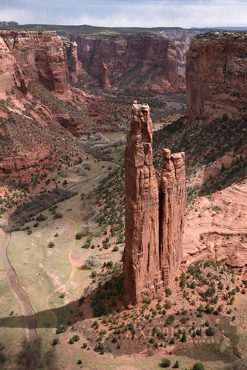 Photo by Gary Cosby Jr.  ..Spider Rock  inside Canyon De Chelley National Monument near Chinle, Arizona.