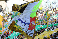 Supporters Nantes Tribune Loire - 05.04.2015 - Nantes / Caen - 31eme journee de Ligue 1<br />