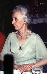 LADY ANNE CAVENDISH-BENTINCK in 1983.