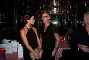 BELLA WRIGHT; ADEE PHELAN, launch of Adee Phelan's Fabulous Haircare Range, Frankie's Italian Bar and Grill, 3 Yeomans Row, off Brompton Road, London SW3, 7pm *** Local Caption *** -DO NOT ARCHIVE-&copy; Copyright Photograph by Dafydd Jones. 248 Clapham Rd. London SW9 0PZ. Tel 0207 820 0771. www.dafjones.com.<br /> BELLA WRIGHT; ADEE PHELAN, launch of Adee Phelan's Fabulous Haircare Range, Frankie's Italian Bar and Grill, 3 Yeomans Row, off Brompton Road, London SW3, 7pm