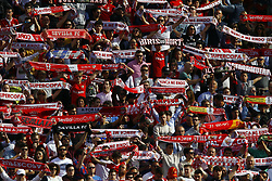 February 23, 2019 - Seville, Madrid, Spain - Sevilla FC fans are seen during the La Liga match between Sevilla FC and Futbol Club Barcelona at Estadio Sanchez Pizjuan in Seville, Spain. (Credit Image: © Manu Reino/SOPA Images via ZUMA Wire)