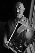 Mario Potenzieri, a survivor of the terrorist attacks on the Twin Towers at the World Trade Center in New York on September11, 2001, speaks about the experience at his home in Green Valley, Arizona, USA.
