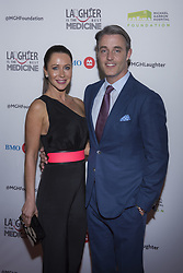 May 13, 2017 - Toronto, Ontario, Canada - JESSICA MULRONEY AND BEN MULRONEY on the red carpet at the Laughter is the Best Medicine III Gala at the Beanfield Centre, Exhibition Place in Toronto, Canada. (Credit Image: © Angel Marchini via ZUMA Wire)