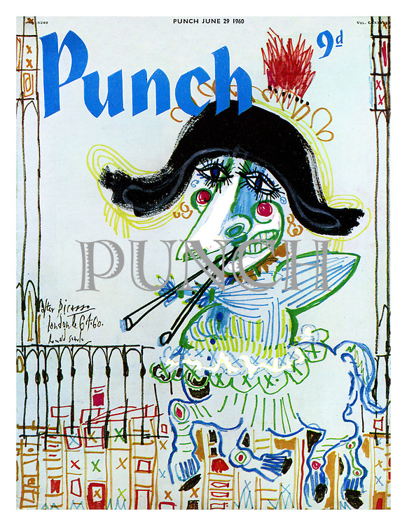 Punch cover 29 June 1960