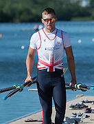 Caversham, United Kingdom,  GBR  M2X, John COLLINS, GBR Rowing, European Championship team announcement, of crews competing in Belgrade, in May. Venue, GBR rowing training base, near Reading,<br /> 09:04:01  Wednesday  14/05/2014<br /> [Mandatory Credit: Peter Spurrier/Intersport<br /> Images]