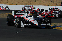 Will Power, Indy Grand Prix of Sonoma, Infineon Raceway, 8/22/2010