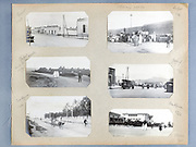 early 1900s photo album with a trip through Morocco and the city Casablance