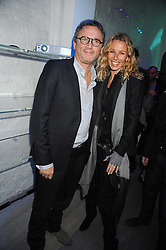 THIERRY GILLIER CEO of Zadig & Voltaire and CAROLE GERLAND Creative Director of Zadig & Voltaire at a party hosted by Kate Sumner at Zadig & Voltaire to celebrate the brand's arrival in London at 182 Westbourne Grove, London W11 on 14th October 2008.