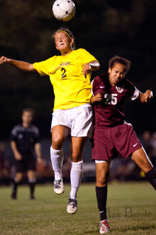 2010-09-01: Rowan University Womens Soccer defeats Arcadia University 4-0.