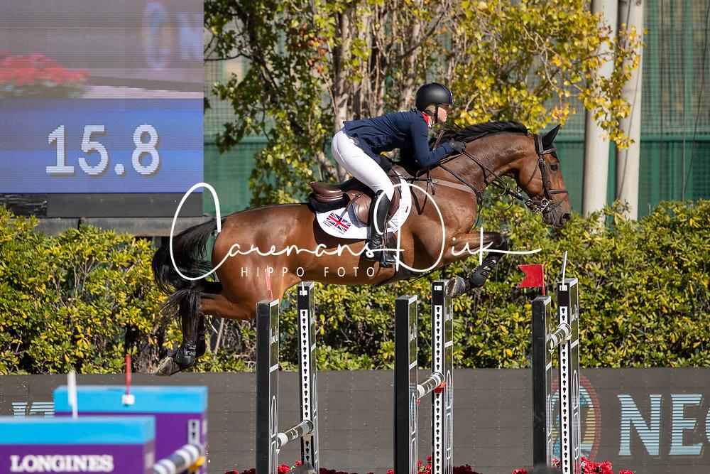 Moffitt Emily, GBR, Winning Good<br /> FEI Jumping Nations Cup Final<br /> Barcelona 2019<br /> © Hippo Foto - Dirk Caremans<br />  03/10/2019