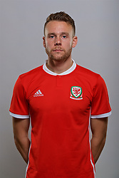 CARDIFF, WALES - Sunday, October 1, 2017: <br /> Chris Gunter. (Pic by David Rawcliffe/Propaganda)