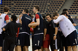 Team of Turkey during the practice session, on September 11, 2009 in Arena Lodz, Hala Sportowa, Lodz, Poland.  (Photo by Vid Ponikvar / Sportida)