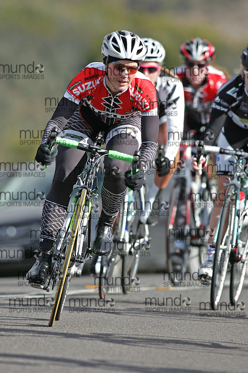 (10 Jul 2011---Canberra, Australia) Beck WIASAK  competing in the Sunday morning road race in the DBR Australia 2011 Junior and Women's Canberra Tour at the Stromlo Forest Park circuit in Canberra, ACT. Copyright Sean Burges / Mundo Sport Images, 2011