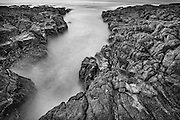 Rocky Shoreline, Bass Point, Shellharbour, NSW, Australia