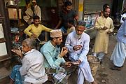 Tea (chi) stall in the Muslim Quarter of Varanasi